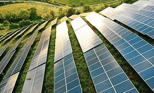 Photovoltaikanlage Freifläche