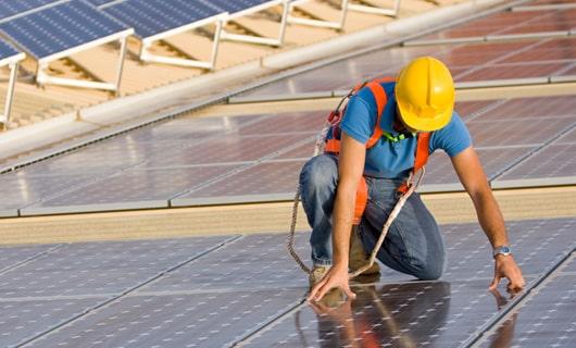 Solaranlage Montage